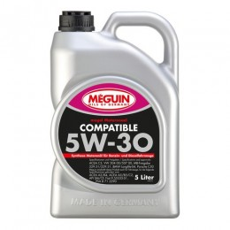 Моторное масло Meguin COMPATIBLE SAE 5W-30 5л