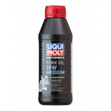 Масло для вилок и амортизаторов Liqui Moly Motorbike Fork Oil Medium 10W 0,5л