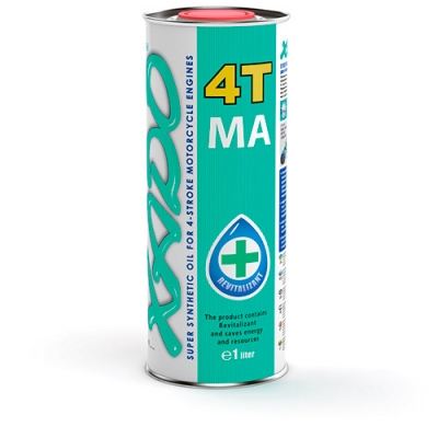 Моторное масло XADO Atomic Oil 10W-40 4T MA SuperSynthetic 1л
