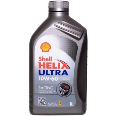 Моторное масло Shell Helix Ultra Racing 10W-60 1л