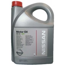 Моторное масло Nissan 5W-30 DPF 5л.