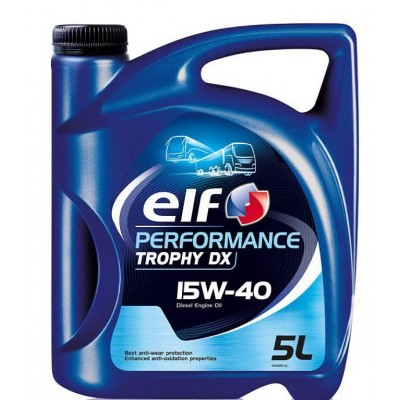 Моторное масло Elf Performance Trophy DX 15W-40 5л
